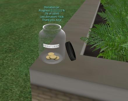 Donation Jar tip jar