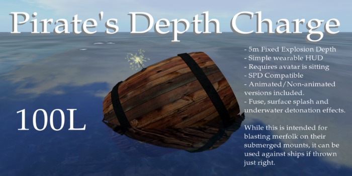 Pirate's Depth Charge