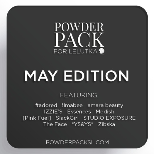 Powder Pack for LeLutka May Edition