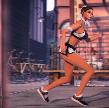[Cute Posing] Running