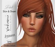 Yokami~Brianna Dark skin & Shape [Catwa Bento Head]