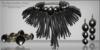 The Dark Dweller of Braj - Necklace Earrings Bracelets Set by Chop Zuey Couture Jewellery