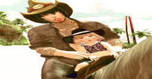 ++ Vetro Poses - Horse Riding with Dad 01 ++