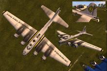 B-17 Archerfield Free Post Paint