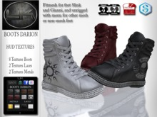 YACK - Mens MESH Boots Darion