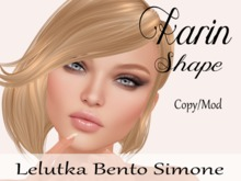 "Karin Shape ""Lelutka Bento Simone Head"""