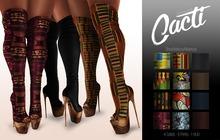 Cacti -  Ra'Niya Peep Toe Boots