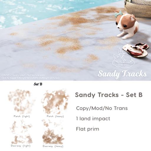+Half-Deer+ Sandy Tracks [Set B]
