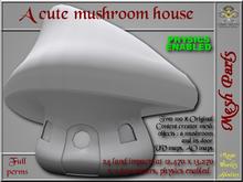 Cute mushroom house - 23 LI - FULL PERMS Mesh