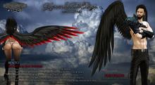 [SP] Ascendant Angel Wings Fallen [Smoke] 2.2 (BENTO)