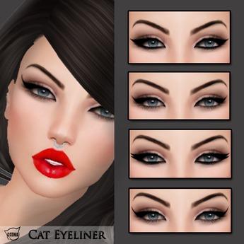 Yokami~Cat Eyeliners [Catwa Applier]