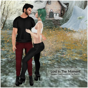 :North Moon: Lost In The Moment {Couples Pose}