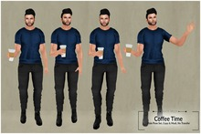:North Moon: Coffee Time Pose set