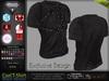 Cael Black Male Mens Strapped Shirt Top  - Mesh - TMP, Adam, Slink, Aesthetic, Signature Gianni - FashionNatic