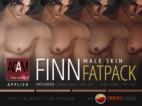 (RED)SAND / FINN-FATPACK/ ADAM APPLIER (wear me)