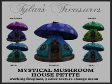.:TT:.  MYSTICAL MUSHROOM HOUSE PETITE  BOX