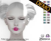 Zibska ~ Folia Lips [no trans] ~ wear me Demo