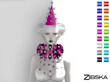 Zibska ~ Folia Color Change Hat, Collar and Orbits