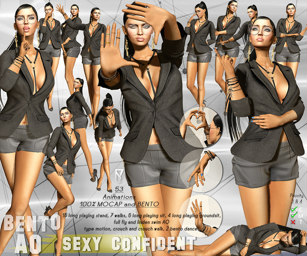 Tuty - SEXY CONFIDENT BENTO AO Priority 3 & 4