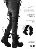 .:CAVE CRITTERS:. - COMBAT BOOTS (unisex)