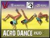 Acro dance HUD