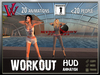 Daily Workout HUD