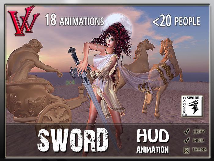 Sword dancer HUD
