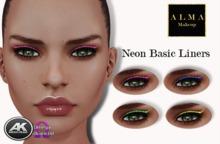 ALMA Makeup - Neon Basic Liners - AK