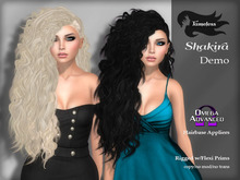 Tameless Hair Shakira (MESH) - DEMO with Omega Appliers for hairbases