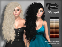 Tameless Hair Shakira (MESH) - Naturals with Omega Appliers for hairbases