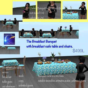 The breakfast Banquet (crate)