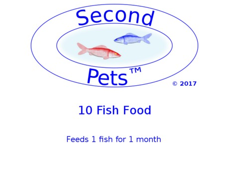 10 Second Pets Fish Food