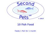 10 Second Pets Fish Food