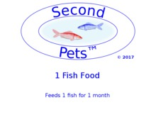 Second Pets Fish Food