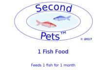 Second Pets Fish Food