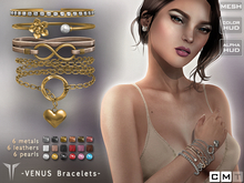 **RE** Venus Bracelets *MESH* (**LUX** Collection)