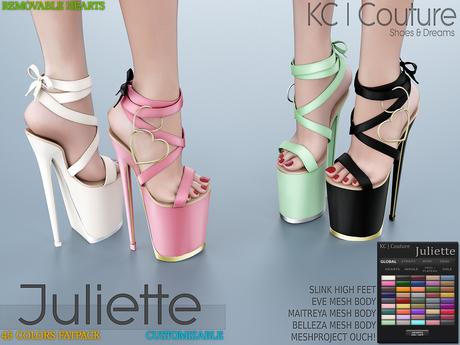 -KC- JULIETTE PLATFORMS / MAITREYA BELLEZA SLINK LEGACY EVE