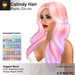 A&A Calindy Hair Pastel Colors Pack. Rigged Mesh Long Womens Hairstyle