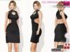 %50SUMMERSALE Full Perm Fitmesh Vixen Dress Slink, Maitreya, Belleza, Tonic, Ebody,TMP