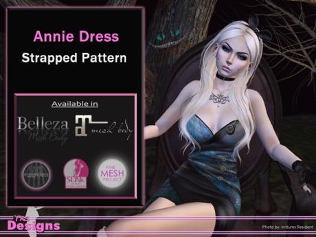 Annie Dress Strapped Pattern