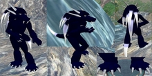 free black dragon avatar