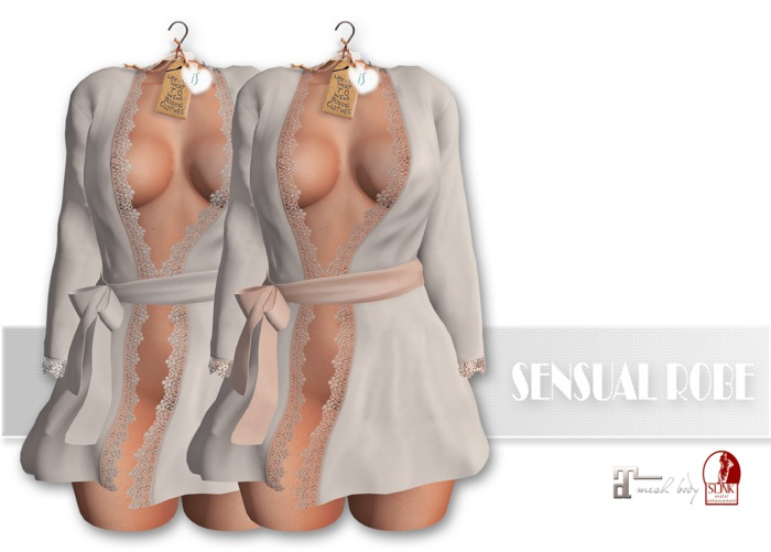 IS SENSUAL ROBE [MAITREYA-S.PHYSIQUE] WHITE [updated]
