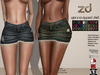 Zd gianna ripped skirt