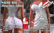 ✪Blow-Up✪ Night Sin Dress - Shiny Stars Edition - Maitreya / Physique / Hourglass