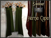 ** Herne Cape ** (5 Colours)