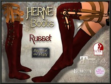 ** Herne Boots Russet ** (Belleza Venus TMP Maitreya Slink PH/HR)