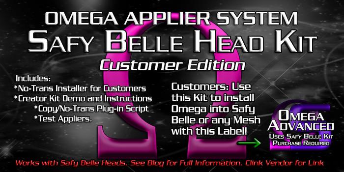 Omega System Kit - Safy Belle (Customer Edition)