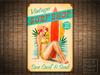 SURF SHOP Retro Pinup Girl Tiki Bar Metal Sign POSTER