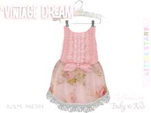 * {.:Little Stars.:} * Vintage Dream - Antique Pink {Baby}