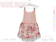 * {.:Little Stars.:} * Vintage Dream - Antique Latte {non-fitted TD Baby}
